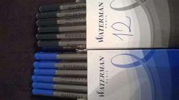 Wkłady do pióra kulkowego Waterman - niebieski i czarny