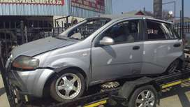 Chev Aveo 1.5 stripping for used spare parts