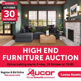 High End Furniture Auction