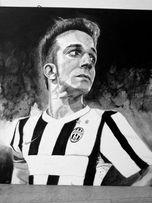 Obraz na płótnie Juventus Alessandro Del Piero
