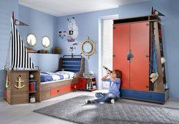 дитяче ліжко корабель детская кровать корабль тм KORSAN (DOGTAS)