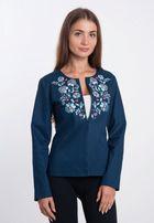 Пиджак, жакет женский с вышивкой 50 размер