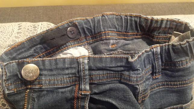 Spodnie dżinsy dziewczęce 134 cm Lubin - image 2