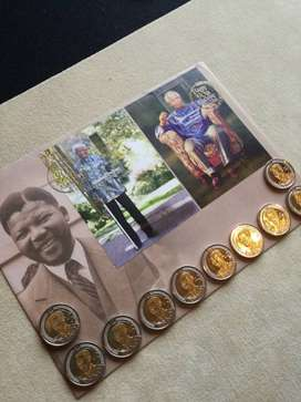 Mandela FDC with both stamps