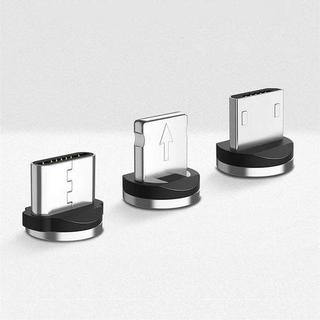 Магнитный коннектор, конектор для круглого кабеля micro-usb, микро-юсб