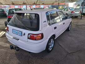 Toyota tazz 1 owner from new bargain