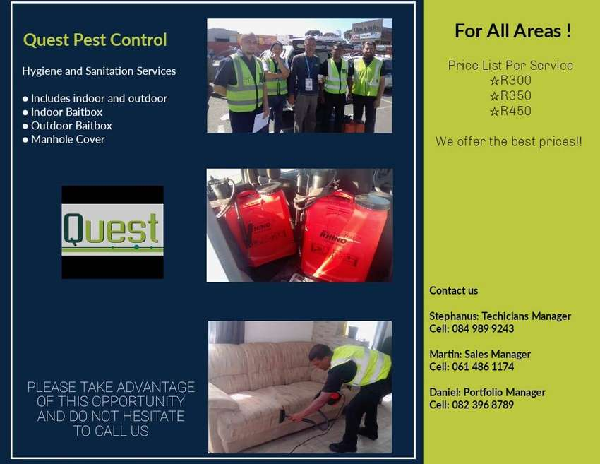 Deep steam cleaning and pest control 0