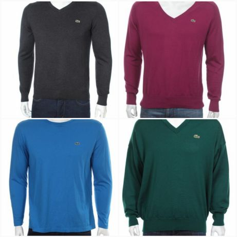 Lacoste męskie swetery rozmiary od s do xl nowe bez metek Radwanowice - image 1