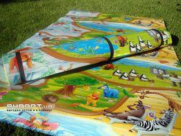 Детский теплый игровой коврик для новорожденных/детей/ползания на пол