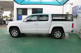 Vw Amarok back bars and canvas