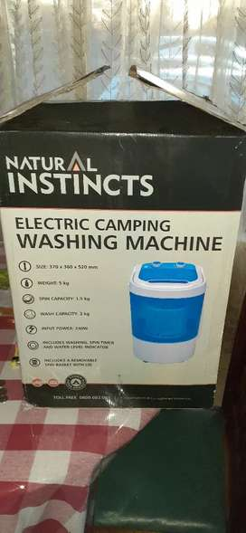 Natural instincts camping washing machine.