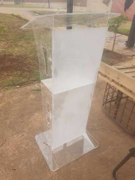 Custom frost front pulpit
