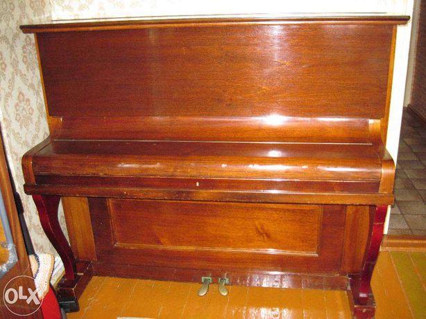 Антикварное немецкое пианино IRMLER LEIPZIG