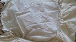 Продам простынь на резинке на детский матрас 130х65 см, 100 % хлопок