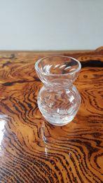 Kolekcjonerski wazon szklany ze szlifem