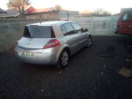 2007 Renault Megan 2.0. 6 speed, airbags, free from accident,