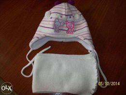 Комплект-шапка и шарф