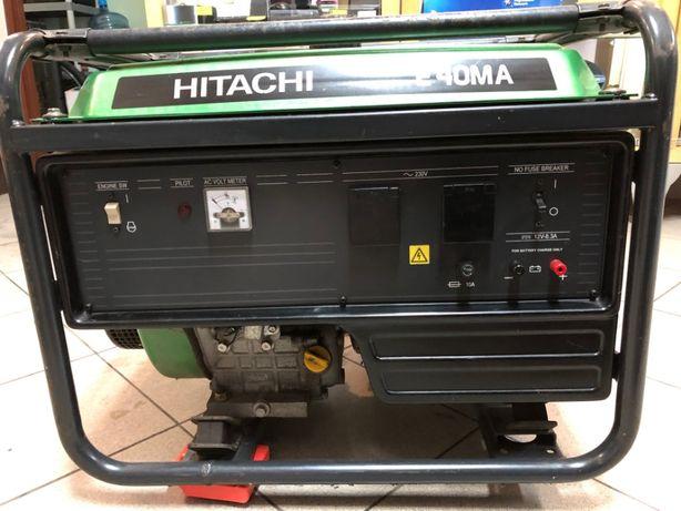 Profesjonalny agregat prądotwórczy HITACHI E40MA 3,3kW stabilizacja Myszków - image 2