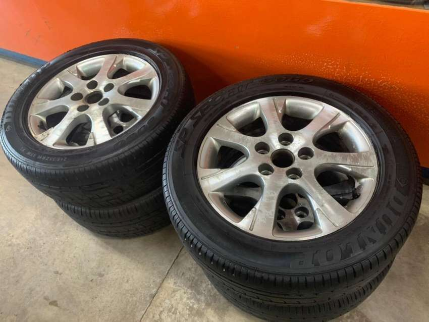"""16"""" 5/114 mags and tyres"""