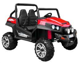 Wielkie Auto pojazd na akumulator Grand Buggy 4x4 fotel skóra koła EVA