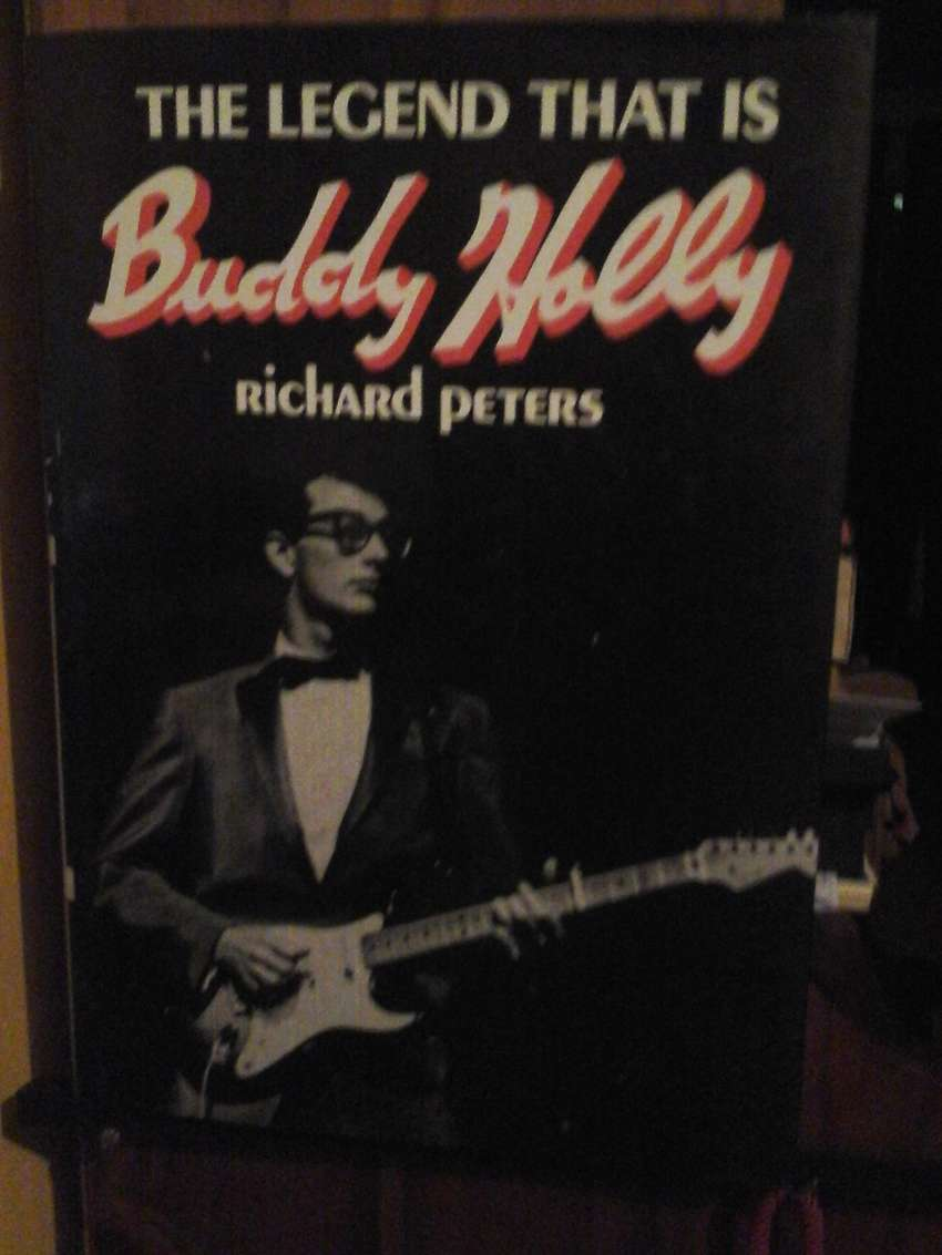 The legend that is Buddy Holly by Richard Peters 0
