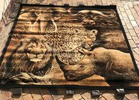 Africa big five tapestry for Sale