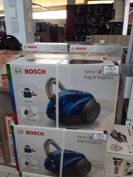 Bosch vacuum cleaner bag and bagless