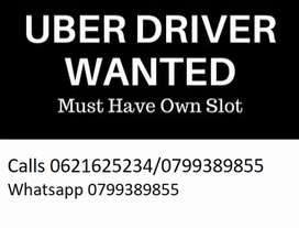 Looking for Uber Partner With Uber X slot