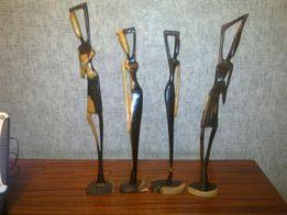 Фигурки статуэтки из (черного )эбенового дерева
