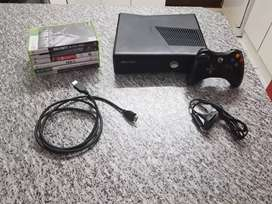 Xbox 360 with games for sale