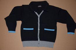104 sweter swetr Next bluza jak kardigan dzianinowy kołnierzyk 4 lata