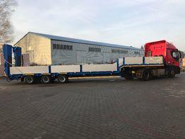 Usługi transportowe, wanna, HDS, 4 ośka, podczołgówka