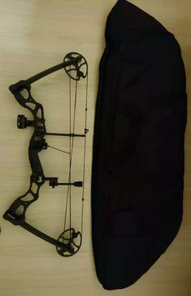 Mankung 85 pound compound bow and accessories