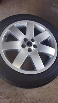 Image of One Original 20 inch Range Rover LR322 spare mag with Continental 255/