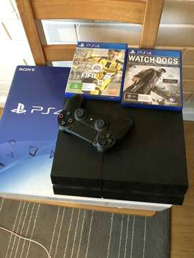 PS4 complete console 1 controler R4500
