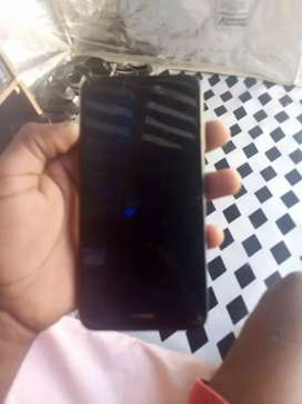 Black huawei p9 with finger print in the back
