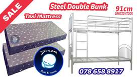 Double Bunk Bed - Limited Offer