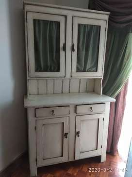Antique pine (painted) Welsh dresser