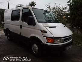 Iveco panel van for hire local and long distance