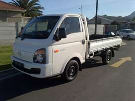 Hyundai H100 Bakkie with Driver for hire