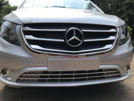 Mercedes Vito and V Class Accessories. Grille Strips, Bumper Protector