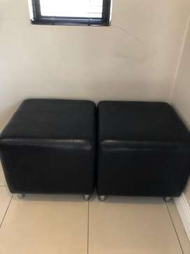 Beautiful Ottomans for sale