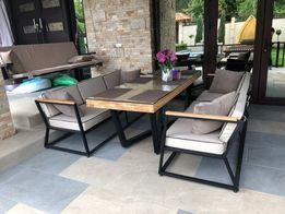 Диван и стол в стиле лофт loft (Loftmaster)