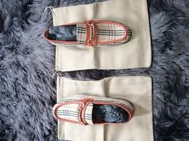 Burberry Men 1983 Check Link Loafers