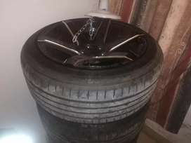 Gremax 205/50Z R17 tyres. (4) for 1500