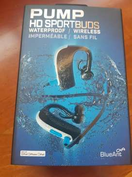 PUMP HD sports buds waterproof wireless headphones