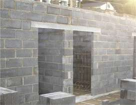 hollow pillars caps lintels blocks and maxis for sale