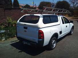 CHEVROLET CORSA UTILITY 2010 WITH CANOPY AND ROOF RACK