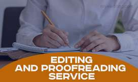 Proofreader and Editor