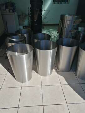 Pots stainless steel